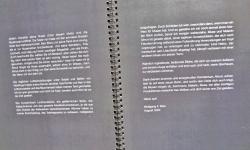katalog 2, dunkelbilder, Textbeitrag W. F. Klee, 2004