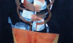 5 nachtschattentraum, 2015, Pigmentfarbe auf Buetten, 33 x 25 cm