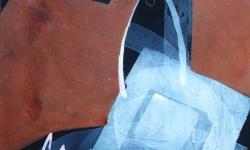 6 spiel der erinnerungen, 2015, Pigmentfarbe auf Buetten, 33 x 25 cm