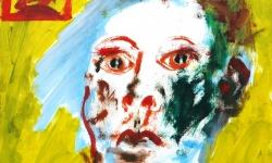 03 vor der liebe - eine sucht, 2015, Mischtechnik, 40 x 40 cm