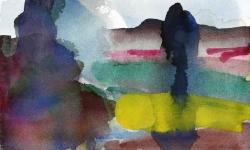 olmeda progress 10, 2006, Aquarell, 18 x 24 cm