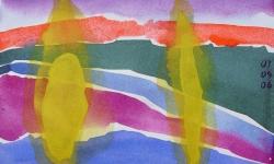 olmeda progress 16, 2006, Aquarell, 18 x 24 cm