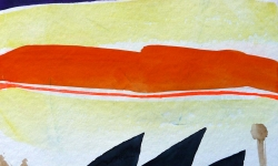 olmeda progress 22, 2006, Aquarell, 24 x 24 cm