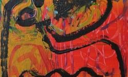 panzerkreuzer, 1999, Acryl auf Leinwand, 24 x 18 cm