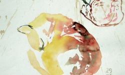 provokazz, skizze 01, 40 x 40 cm, 2005