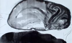 provokazz, skizze 11, 24 x 40 cm, 2006