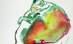 provokazz, skizze 02, 40 x 40 cm, 2005