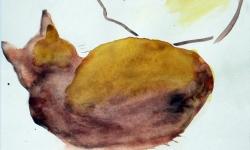provokazz, skizze 04, 40 x 40 cm, 2005