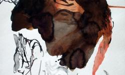 provokazz 06, 2005, Aquarell, 40 x 40 cm