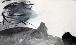 provokazz 05, 2005/06, Aquarell, 40 x 40 cm
