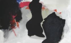 7 anbetung, 2013, Acryl auf Leinwand, 76 x 101 cm