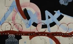 1 im gleichgewicht, 2014, Mischtechnik Acryl/Aquarell auf Bütten, 35 x 50 cm